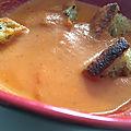 Goumandises du dimanche - velouté de tomates rôties