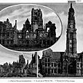Arras bombardée