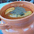 Jeri chorba frik soupe au blé vert torréfie concasse pour ramadan cuisine algérienne