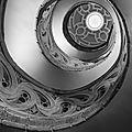 Escalier hélicoïdal, cathédrale de pampelune