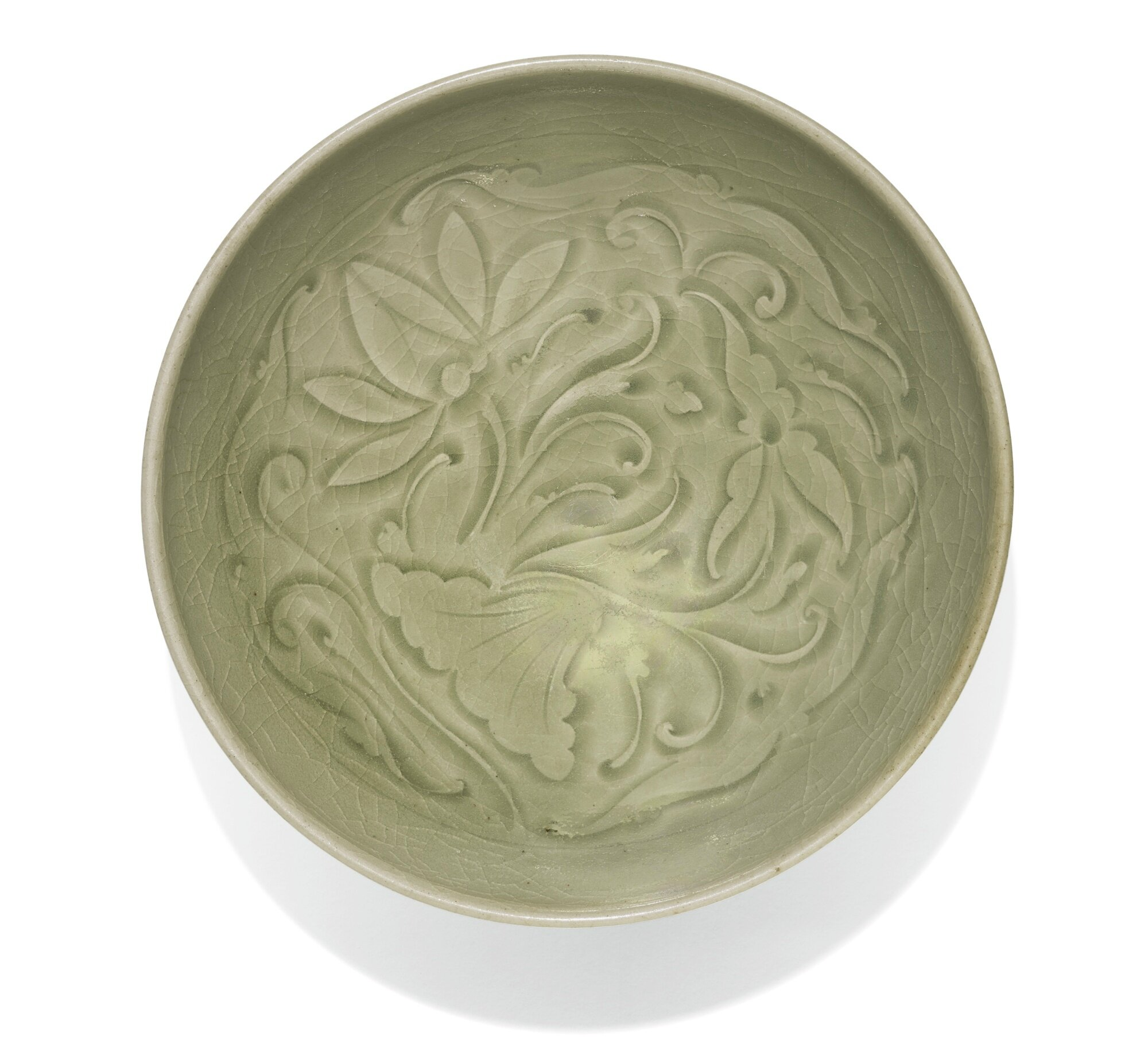 A 'Yaozhou' 'Lotus' Bowl, Song Dynasty