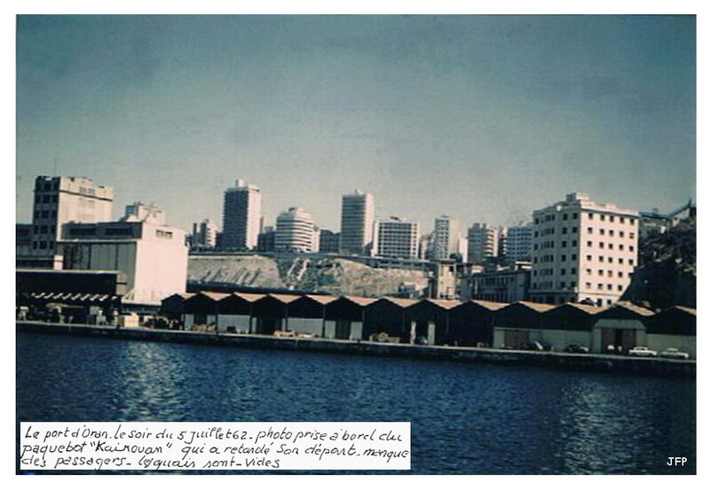 Oran 5 juillet 1962