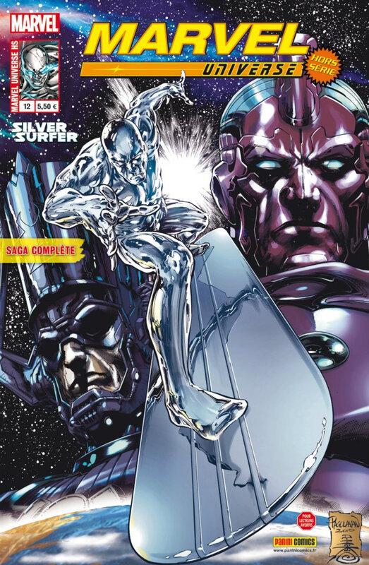 marvel universe hs 12 silver surfer