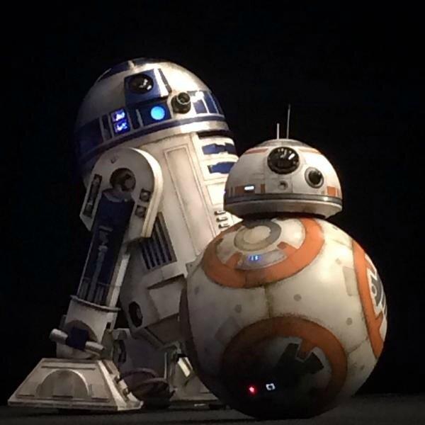 R2-D2 et BB-8