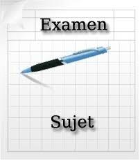 Sujet Examen