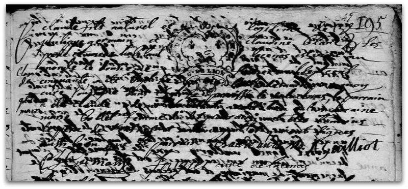 baptême 1750 z