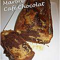 Marbré café chocolat