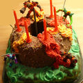 Gâteau gormiti