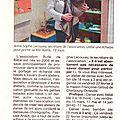 Article dans la presse de la manche du 19 février 2013
