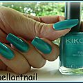 kiko 527 Metalic emerald green