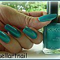 kiko 527 Metalic emerald green