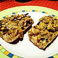 Croûtes de champignons au curry