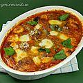 Boulettes de viande à l'italienne d'après jamie oliver