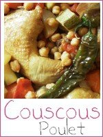 couscous poulet - index