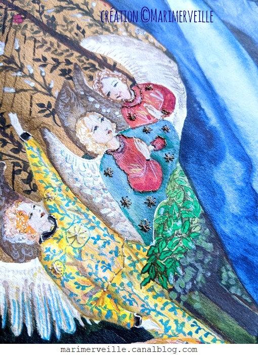 Ange de la Vierge au Buisson de rose 2