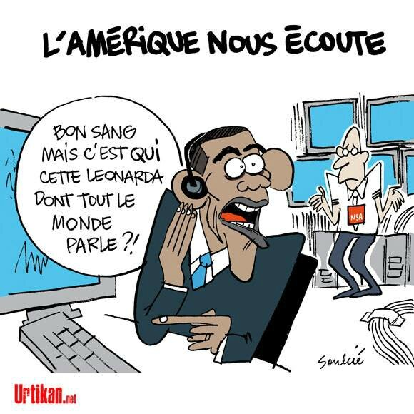 usa obama humour ecoute leonarda hollande ps