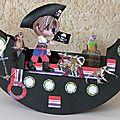 Carte balançoire : petit pirate