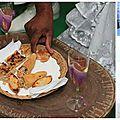 Duo de flûte-arum pour un mariage martiniquais....