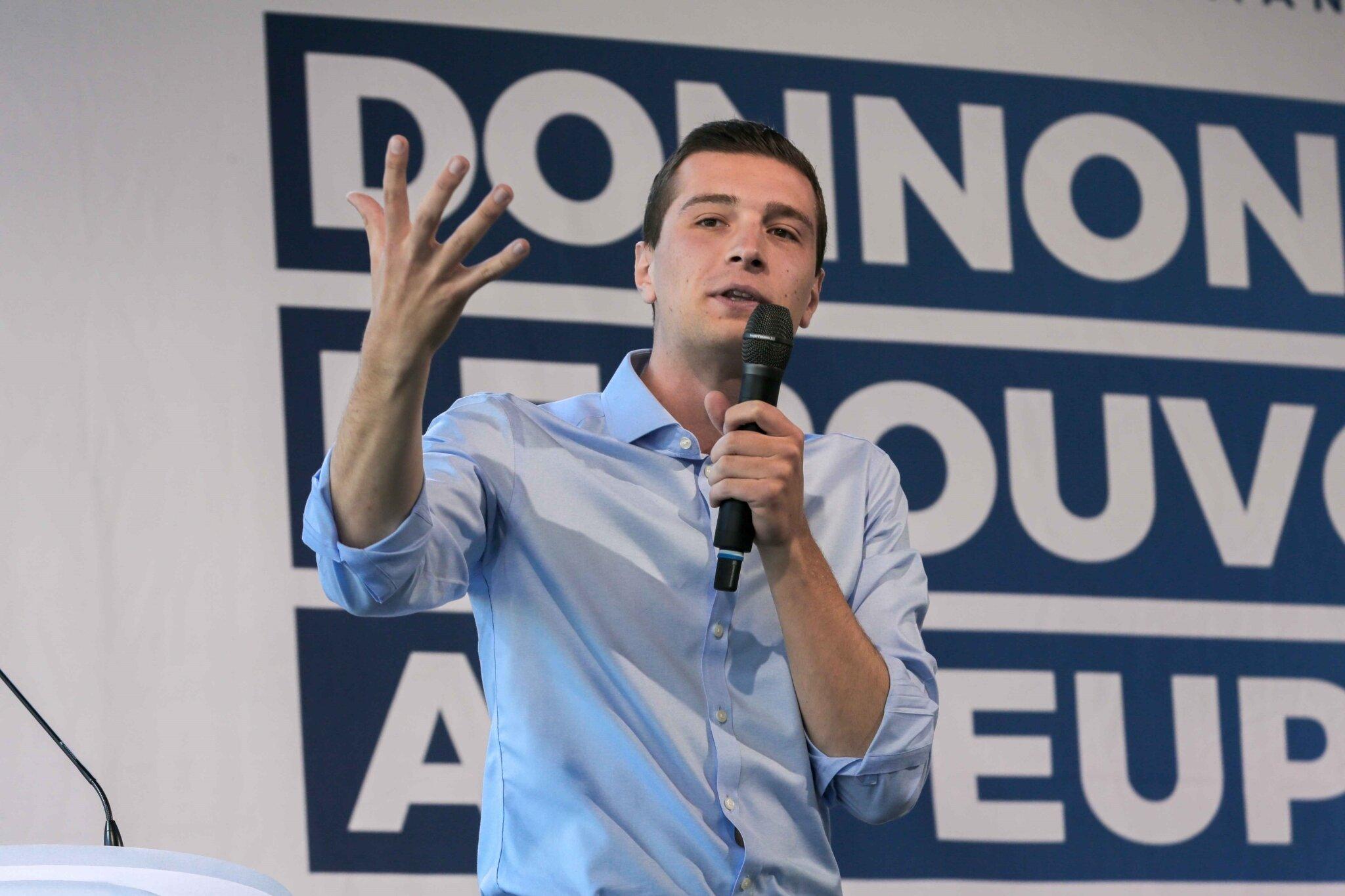 Mormant : Marine Le Pen en terrain conquis. © Michel Stoupak. Dim 31.03.2019, 14h21m39.