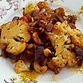 Chou-fleur sauté au curry