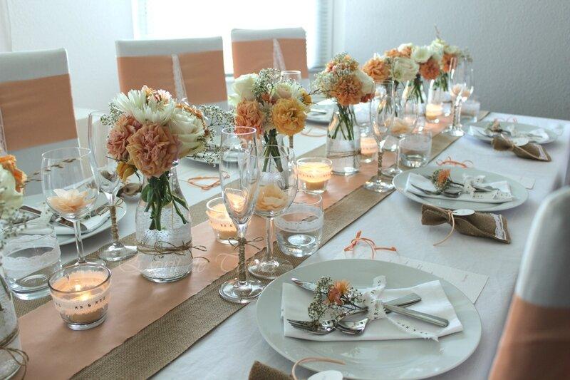 Table De Mariage Champetre