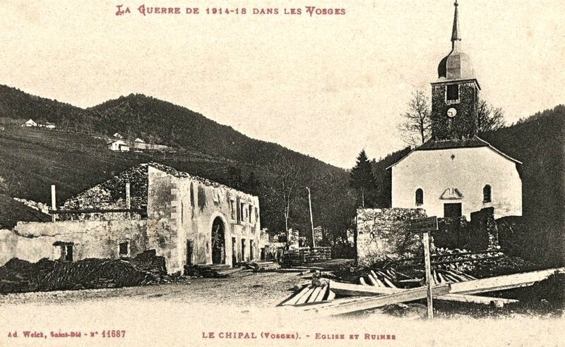 Le Chipal ruines