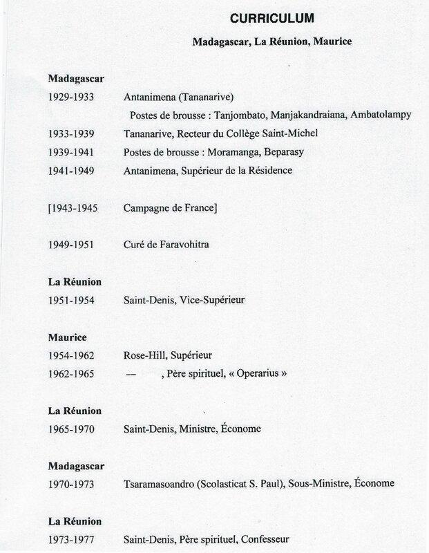 CV Pere de Gevigney