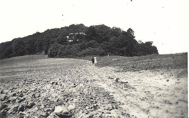 Pentecôte 1935 Bois Rumont Col de Bratte le 9 juin M