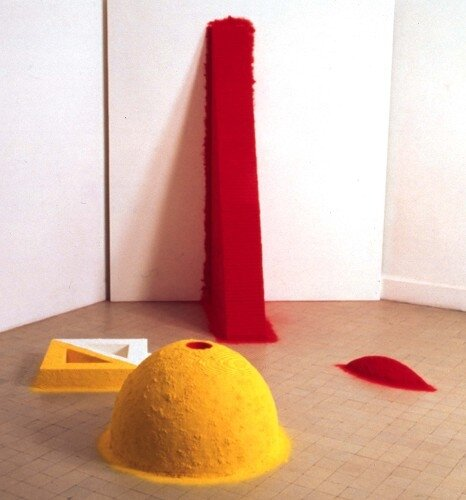 anish Kapoor,1000 names, 1981
