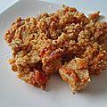 Poulet et lentilles corail au curry, recette cookéo