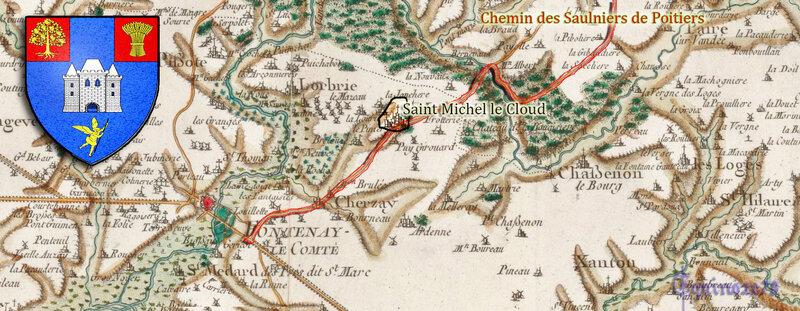 SAINT MICHEL LE CLOUCQ de la baronnie de Mervent sur le chemins des Saulniers