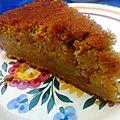Gâteau aux carottes et lait d'amande