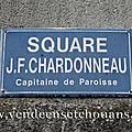 Les Luc-sur-Boulogne (85), square J.F. Chardonneau, Capitaine de paroisse