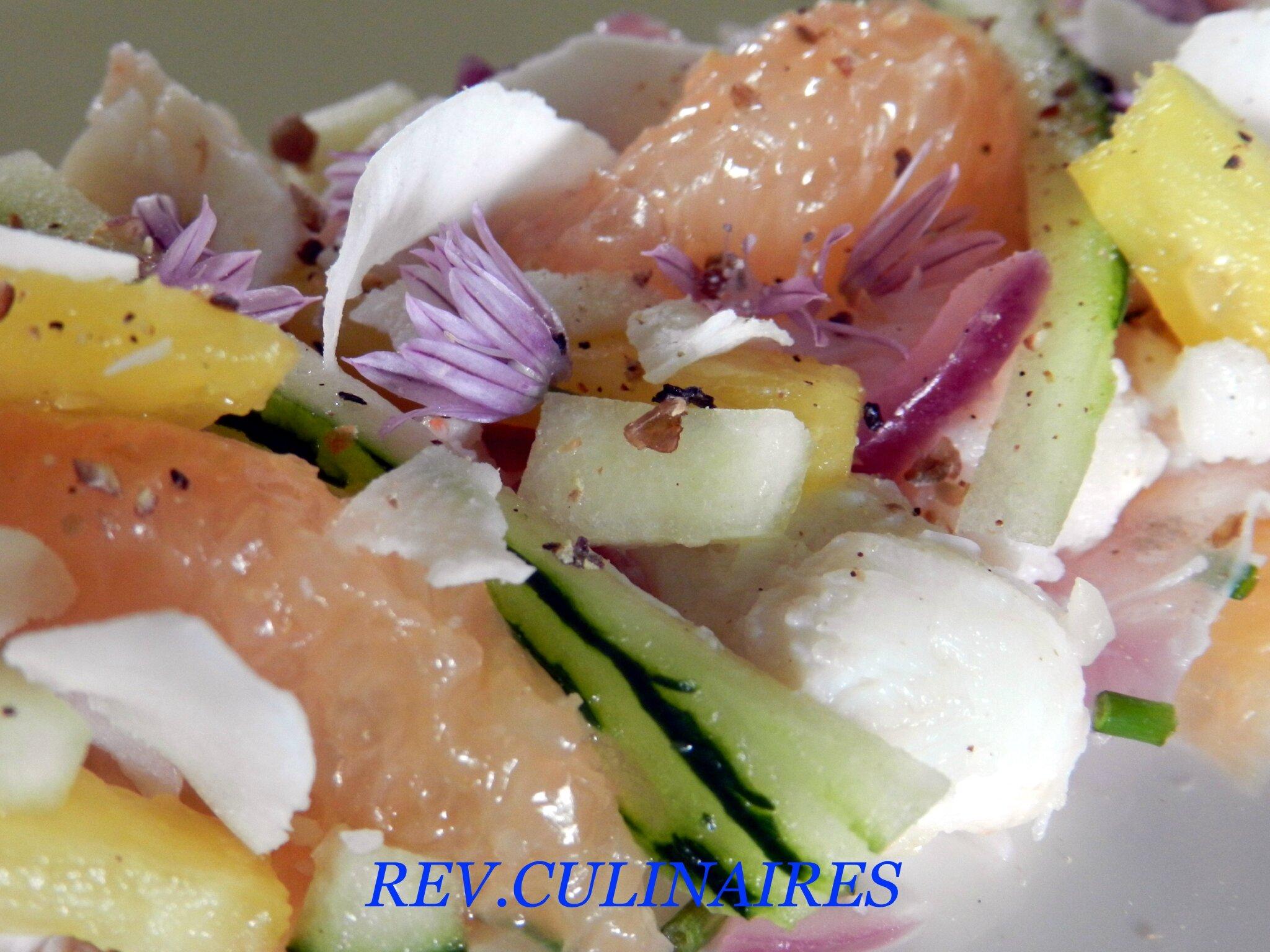salade exotique de crabe, rapée de coco 2