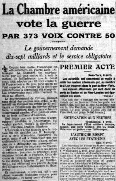 Le Petit Parisien 07 04 1917