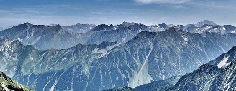 Vue hautes Pyrénées
