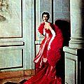 Dovima for modess, 1953
