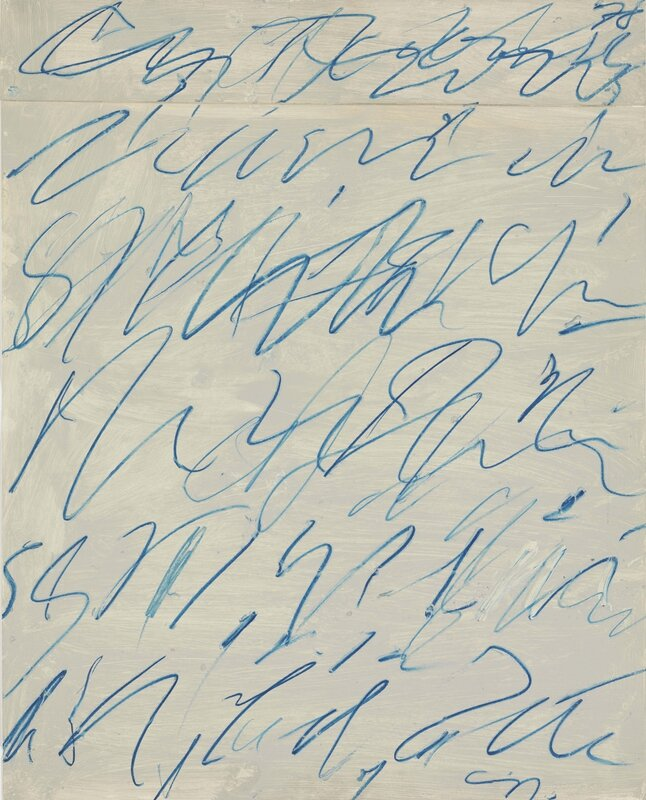 Cy Twombly_Untitled (Per Nino), 1970