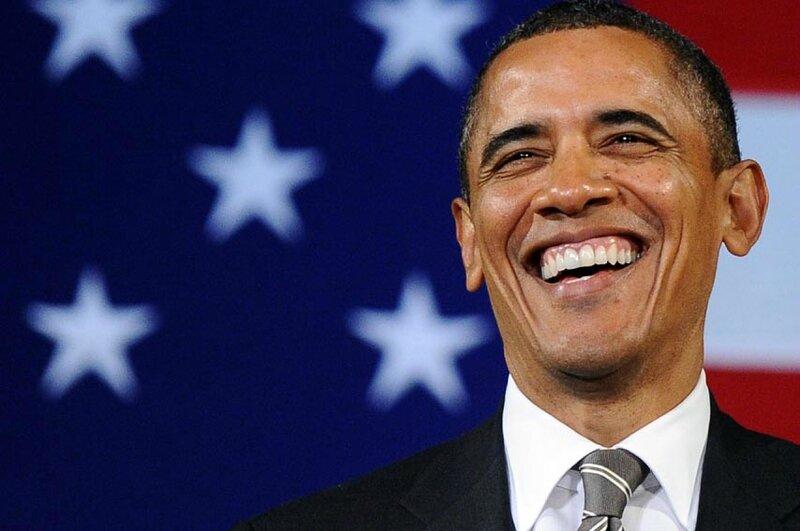Obama hilarious