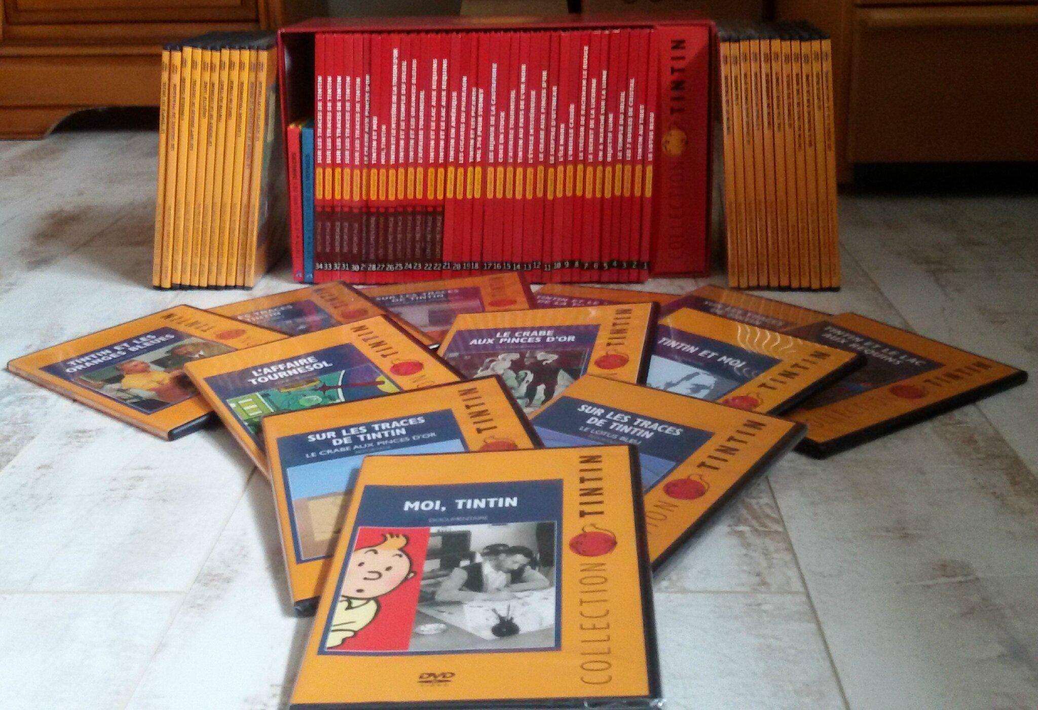 Dvd Tintin Vente Le Bon Coin