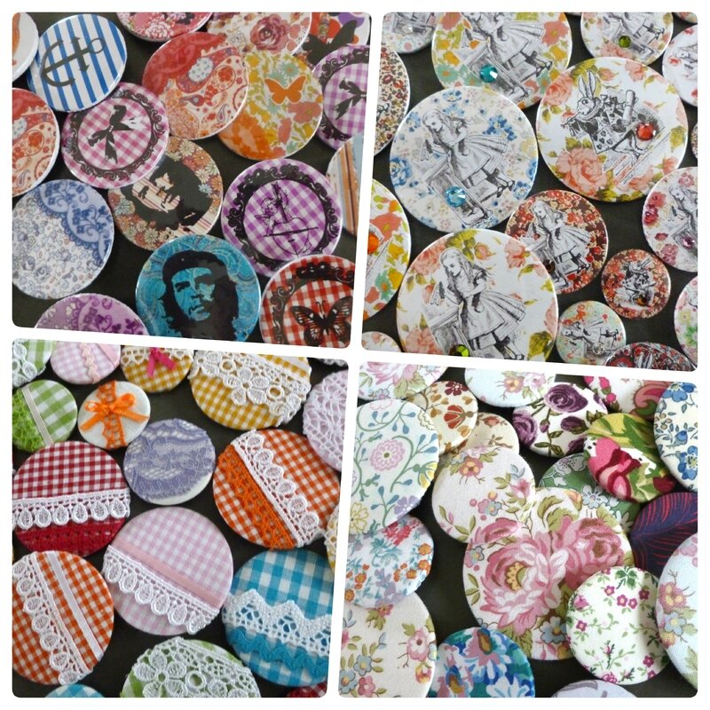 collageRETROUVAILLES BADGES