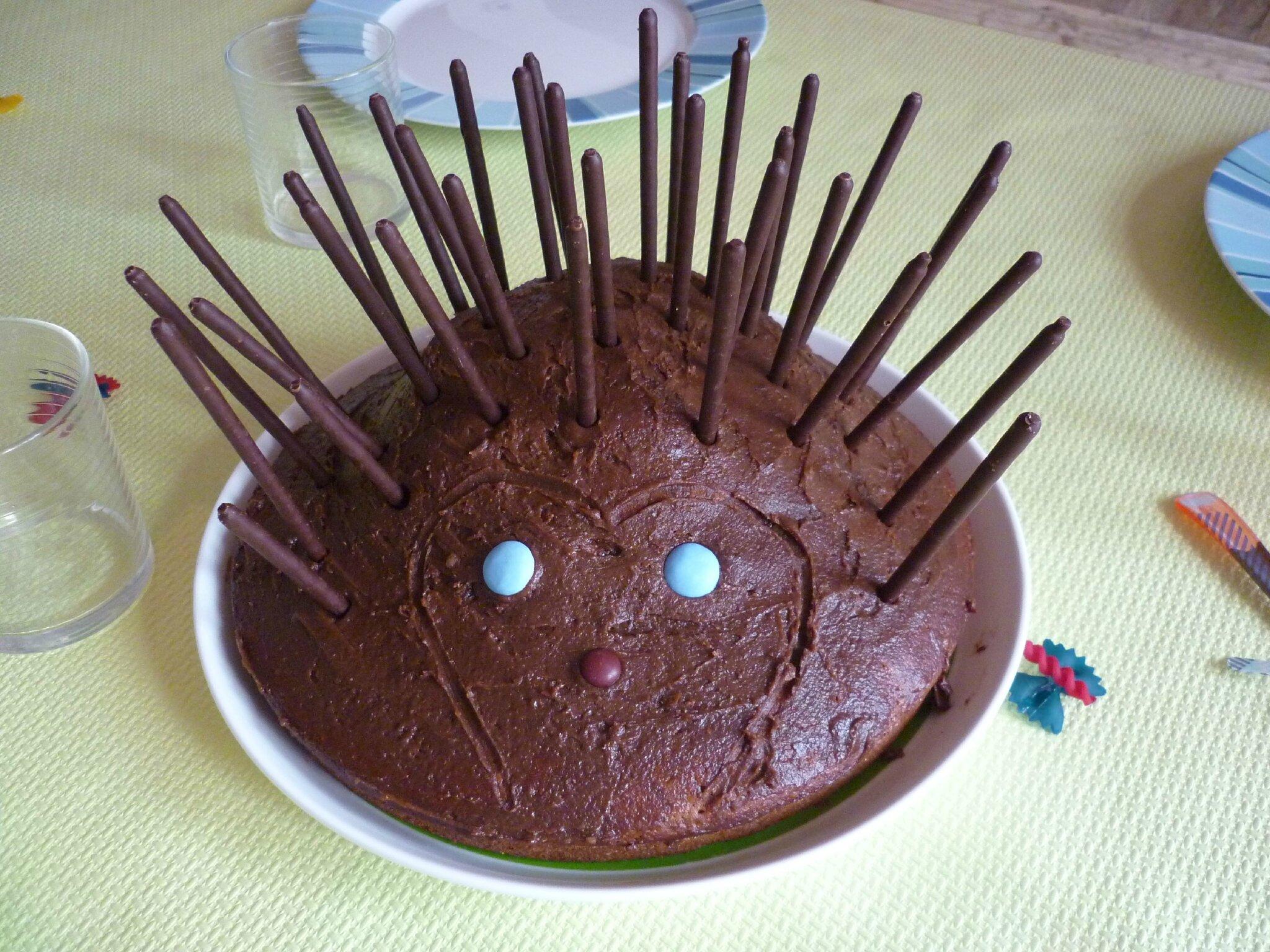Gâteau hérisson