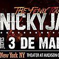 Nicky jam en concert a new york le 3 mars 2016