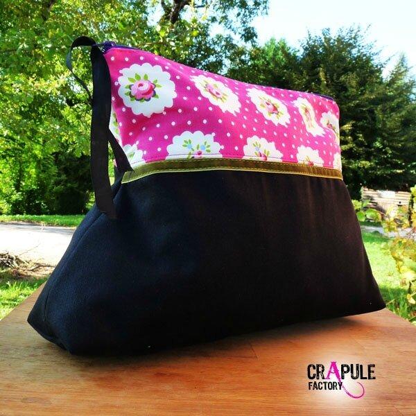 grosse-trousse-de-toilette-retro-chic-ma-biche-rose fleur et noir ruban velour vert 2 600 600