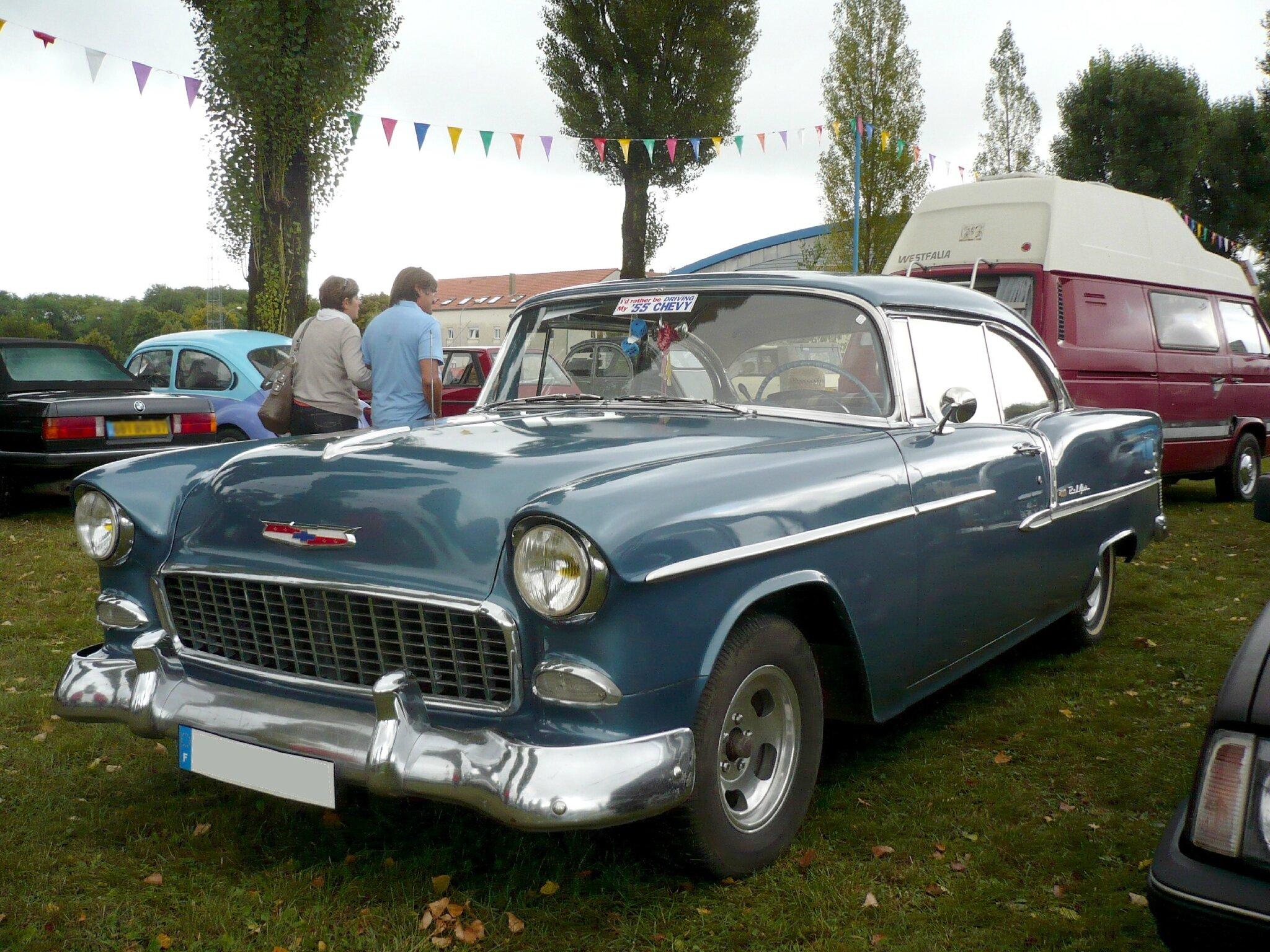 CHEVROLET Bel Air 2door hardtop 1955 Créhange (1)