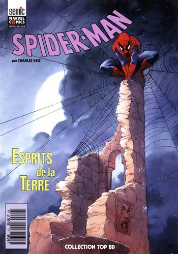 semic top BD 23 spiderman esprits de la terre