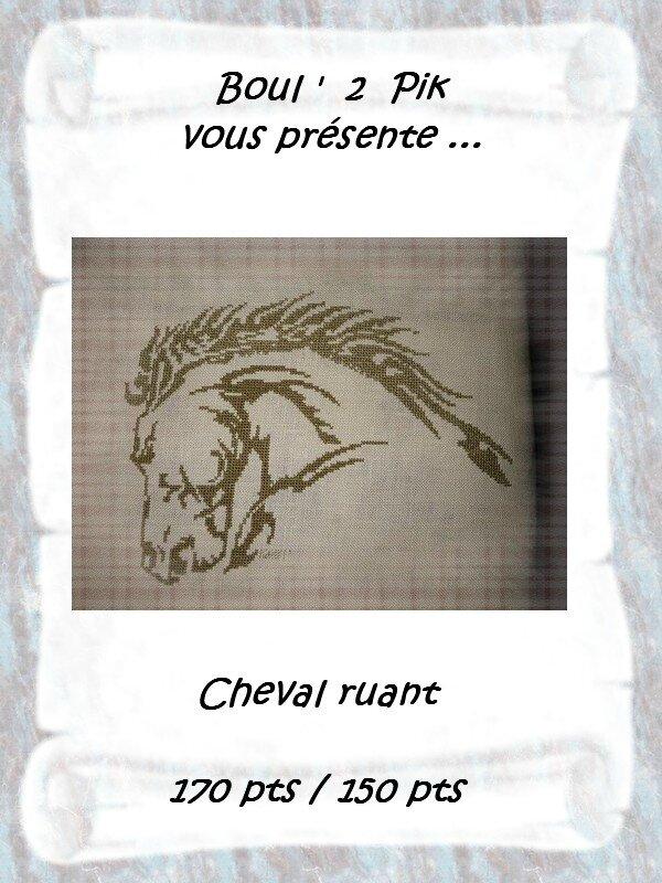 Cheval ruant