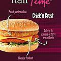 Nouveau burger : le chick'n crust