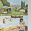 Collection ... affiche les vacances (1967) * au bord de l'eau