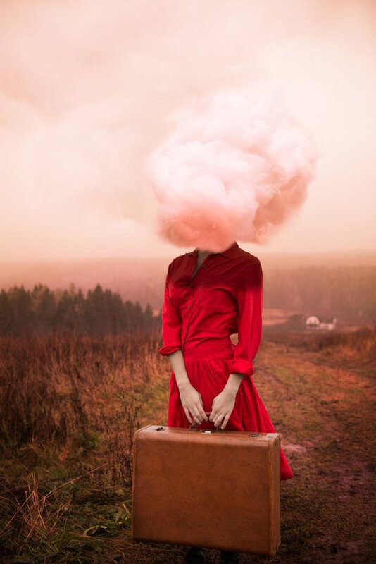 Head in the Clouds Photograph by Alicia Savage
